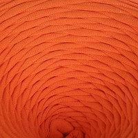 Пряжа трикотажная широкая 100м/320±15гр, ширина нити 7-9 мм (оранж.)