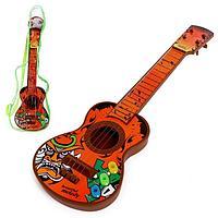 Игрушка музыкальная гитара 'Аккорд', звуковые эффекты