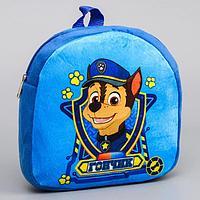 Щенячий патруль. Рюкзак детский плюшевый 'Гончик', 24,5 x 24,5 см