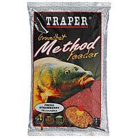 Прикормка Traper 'Метод фидер', клубника, 750 г