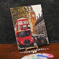 Картина по номерам на холсте с подрамником 'Лондон' 40х50 см