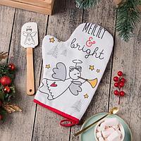 Набор подарочный 'Merry bright' с варежкой-прихваткой