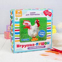 Набор для создания игрушки 'Курочка' из меховых палочек