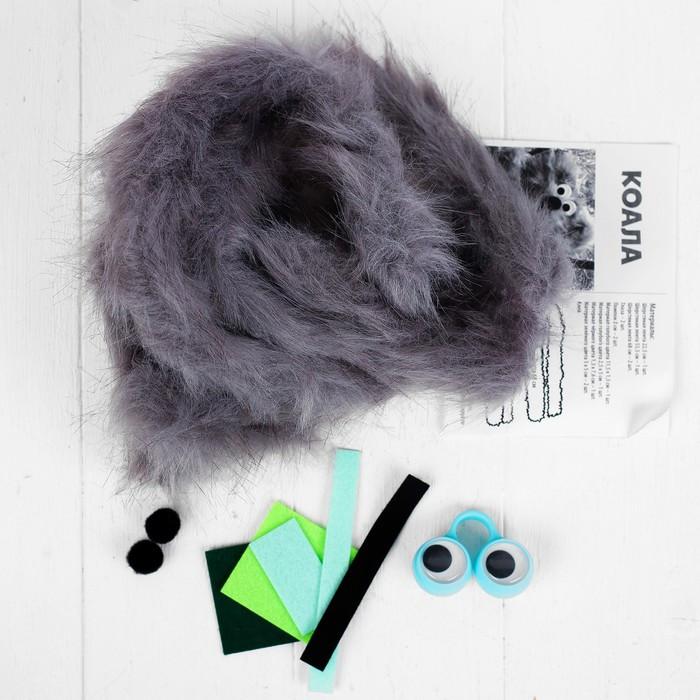 Набор для создания игрушки 'Коала' из меховых палочек - фото 3