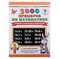 '3000 примеров по математике, 2 класс. Сложение и вычитание в пределах 100', Узорова О. В., Нефёдова Е. А.