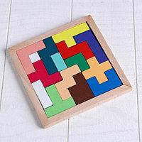 Деревянная игрушка 'Головоломка', 15 деталей, 14,5x14см
