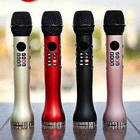 Беспроводной Bluetooth караоке микрофон L-598 с функцией записи