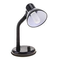 Лампа настольная Е27, светорегулятор (220В) черная (203А)