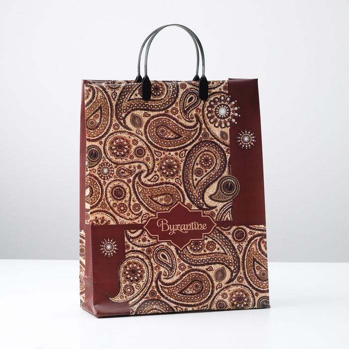 Пакет 'Византия', мягкий пластик, 30 х 40 см, 150 мкм (комплект из 10 шт.) - фото 1