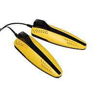 Сушилка для обуви Sakura SA-8157RY, 10 Вт, 65С, желто-черная