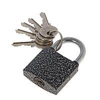 Замок навесной 'АЛЛЮР' ВС1Ч-340, дужка d5 мм, полимер, 5 ключей