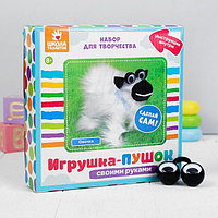 Набор для создания игрушки 'Овечка' из меховых палочек