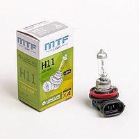 Лампа автомобильная MTF Standard+30, H11, 12 В, 55 Вт, HS1211