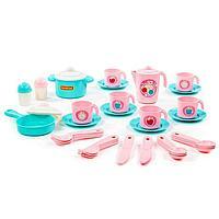 Набор детской посуды 'Настенька' на 6 персон, 38 элементов