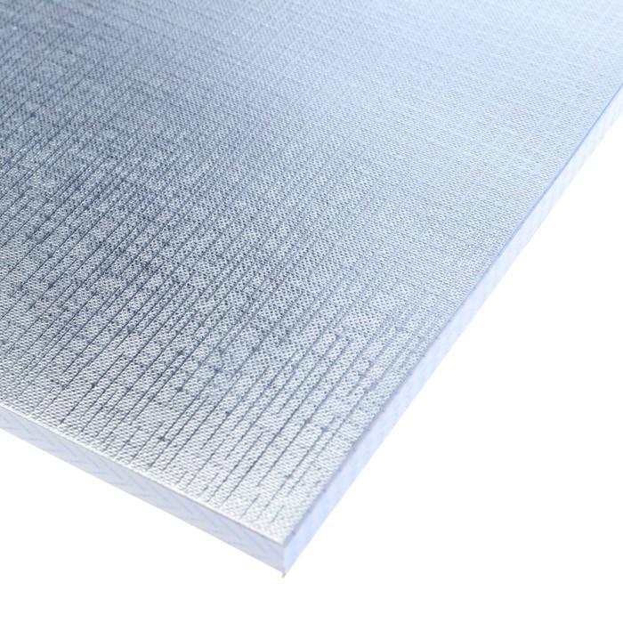 Тетрадь А4, 96 листов в клетку 'Серебро. METALLIC', бумвинил - фото 2