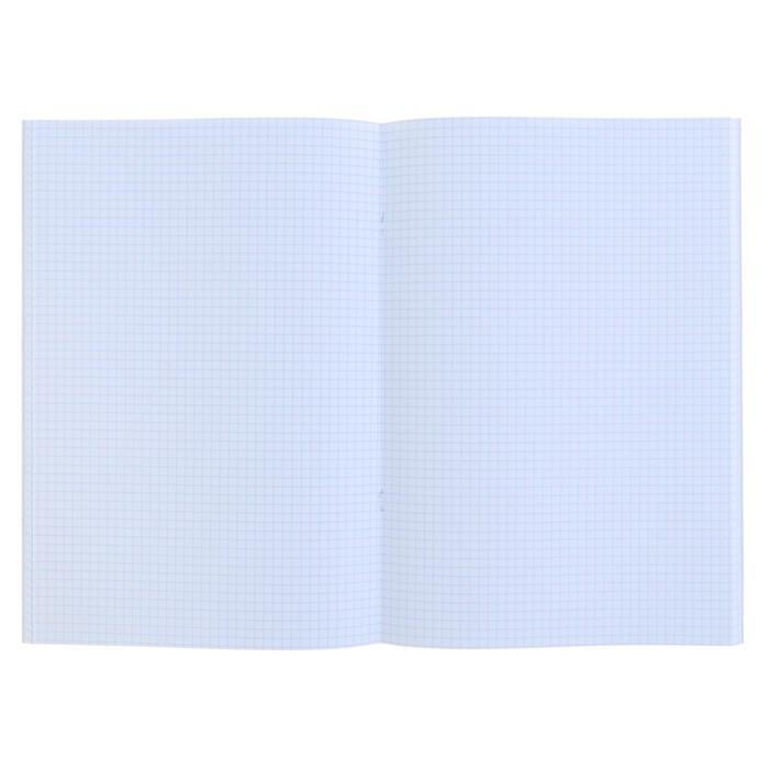 Тетрадь А4, 96 листов в клетку 'Серебро. METALLIC', бумвинил - фото 3