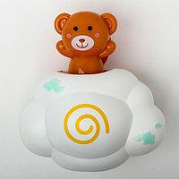Игрушка для купания 'Мишка на облачке', с брызгалкой