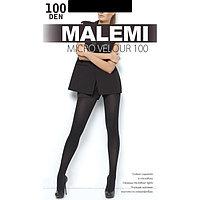 Колготки женские MALEMI Micro Velour 100 den, цвет чёрный (nero), размер 2