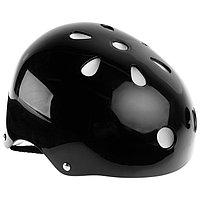 Шлем защитный OT-S507 детский, d55 см, цвет чёрный