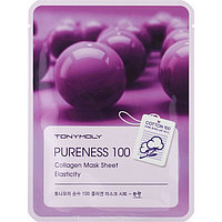 Тканевая маска для лица Tony Moly Pureness 100 Collagen Mask Sheet с коллагеном, 21 мл