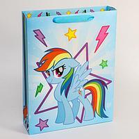 Пакет ламинат горизонтальный, My Little Pony, 31 х 40 х 9 см