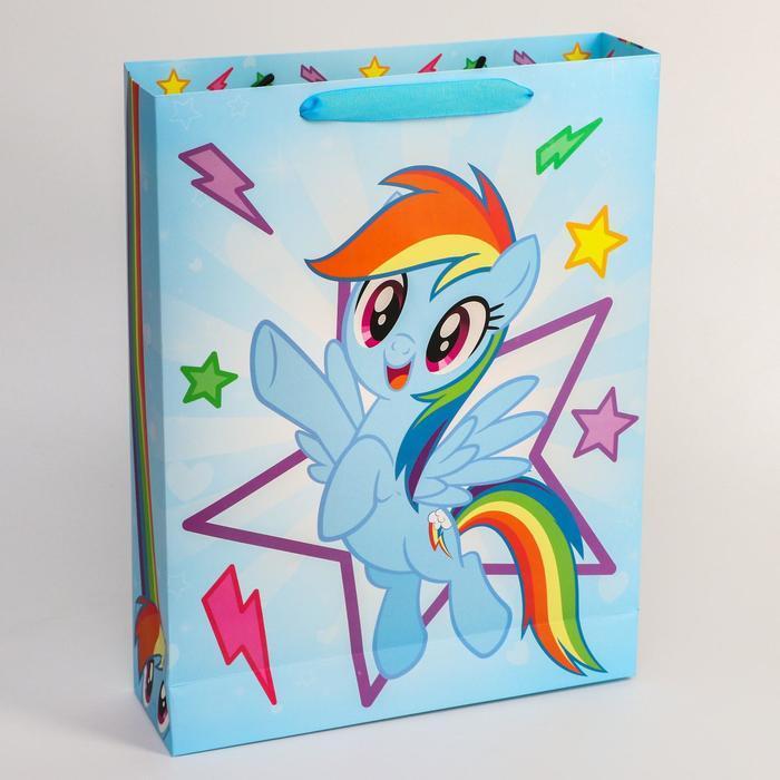 Пакет ламинат горизонтальный, My Little Pony, 31 х 40 х 9 см - фото 2