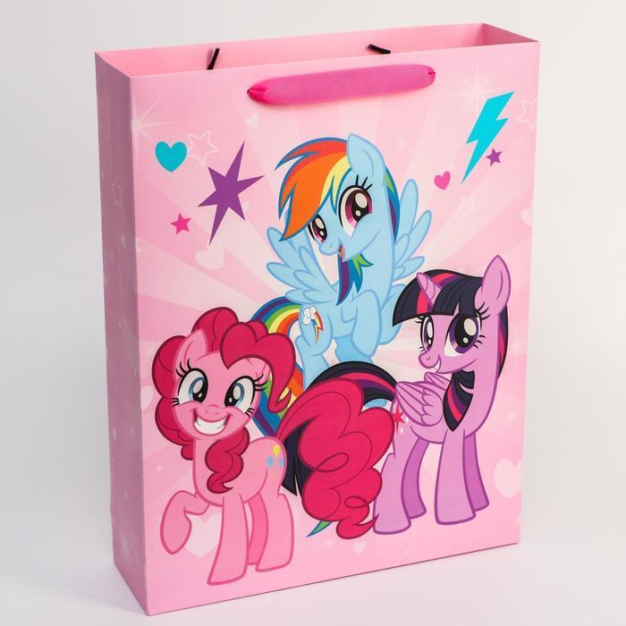 Пакет ламинат горизонтальный, My Little Pony, 31 х 40 х 9 см - фото 1