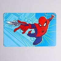 Коврик для лепки Человек-Паук, синий,формат А4