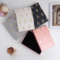 Коробочка подарочная под набор 'Ананасы', 13*18 см (размер полезной части 12х17,5см), цвет МИКС (комплект из 6