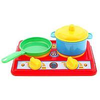 Набор для кухни 'Галинка 2', плита, кастрюля, сковорода