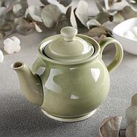 Чайник 'Акварель', 400 мл, цвет фисташковый