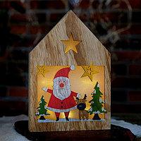 Декор с подсветкой 'Сказка в домике' 2,2x15,5x22 см