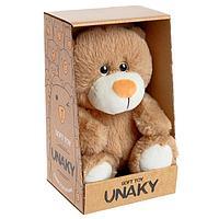 Мягкая игрушка 'Медвежонок Сильвестр', цвет светло-коричневый, 20 см