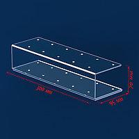 Подставка под леденцы 30*9,5*7, оргстекло 3мм, вместимость 11 штук