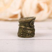 Напёрсток сувенирный 'Севастополь', латунь