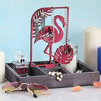 Органайзер для хранения 'Фламинго и монстера'