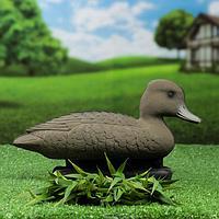 Фигура подсадная 'Чернеть хохлатая' утка, 31х13х17см