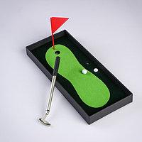 Мини-гольф 'Настольный', набор для игры, 25х10 см