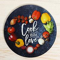 Разделочная доска Cook with love, 20 см