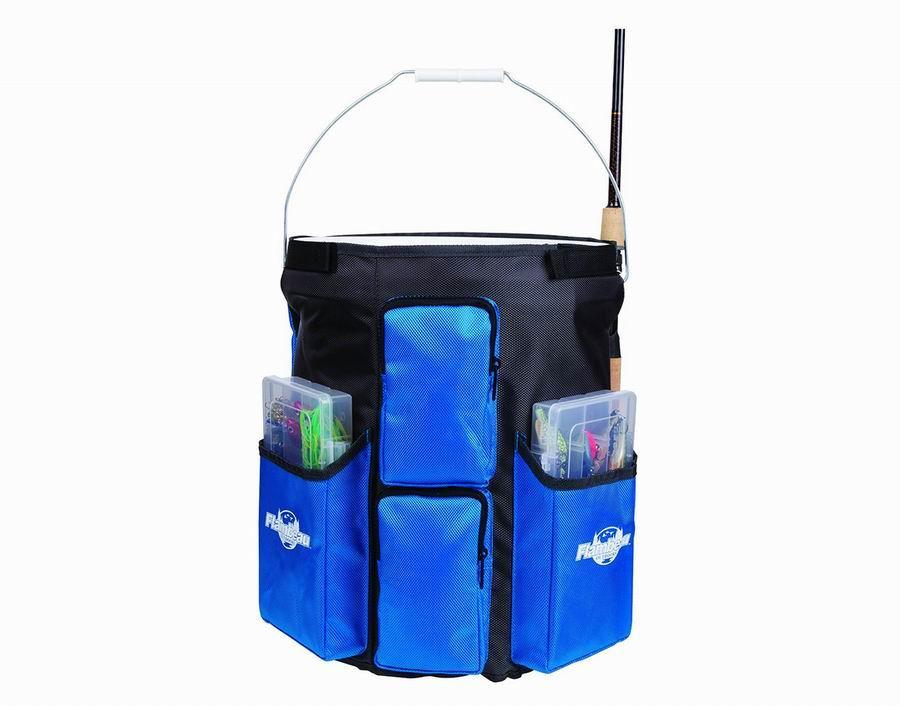 Сумка под ведро FLAMBEAU 6313BW синий 38см R 37660