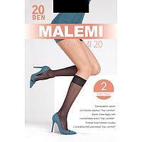 Гольфы MALEMI Naomi 20 2 пары, цвет телесный (melon)