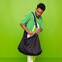 РЭККЛА сумка складная,черный75x45 см/55 л, фото 3