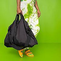 РЭККЛА сумка складная,черный75x45 см/55 л, фото 2