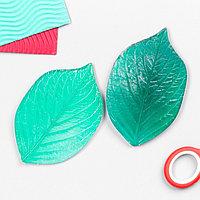 Молд пластик st-0066д 'Универсальный лист' двусторонний (набор 2 детали) 10,5х6,5 см