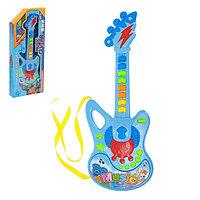 Музыкальная игрушка гитара 'Молния', световые и звуковые эффекты