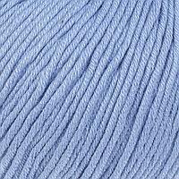 Пряжа 'Baby Cotton XL' 50 хлопок, 50 полиакрил 105м/50гр (3423 голубой) (комплект из 5 шт.)