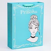 Пакет ламинат вертикальный 'Princess', Принцессы, 31х40х11 см