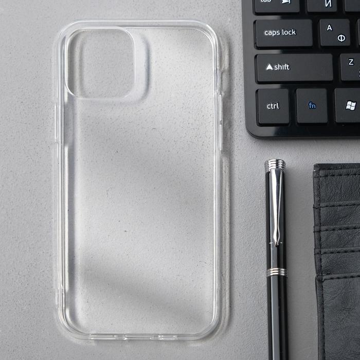 Чехол Innovation, для Apple iPhone 12/12 Pro, силиконовый, прозрачный - фото 1