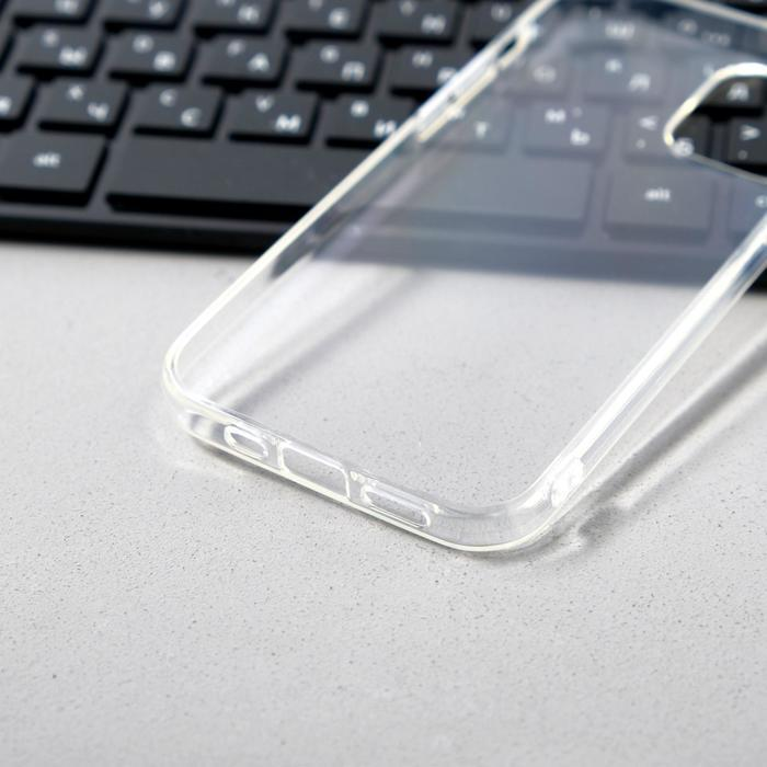 Чехол Innovation, для Apple iPhone 12/12 Pro, силиконовый, прозрачный - фото 3