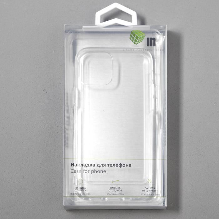 Чехол Innovation, для Apple iPhone 12/12 Pro, силиконовый, прозрачный - фото 4